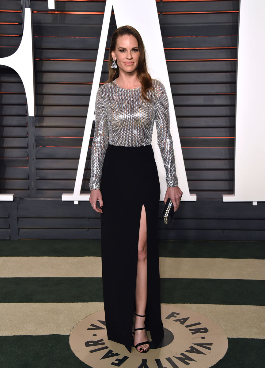 Oscars-2016-after-party-Hilary-Swank